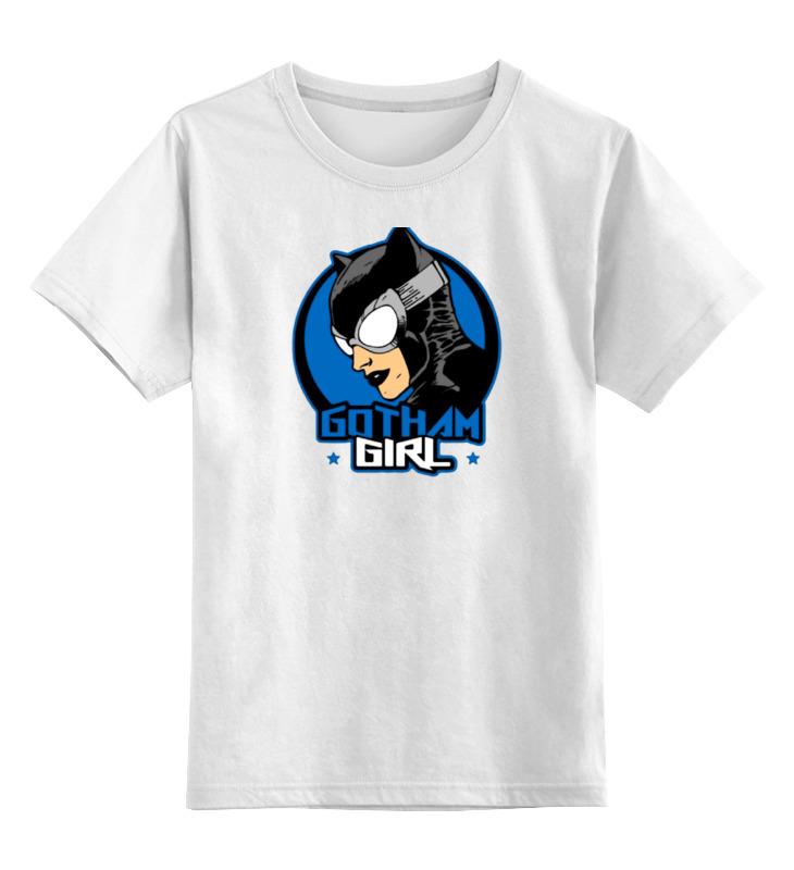 Детская футболка классическая унисекс Printio Gotham girl детская футболка классическая унисекс printio tank girl