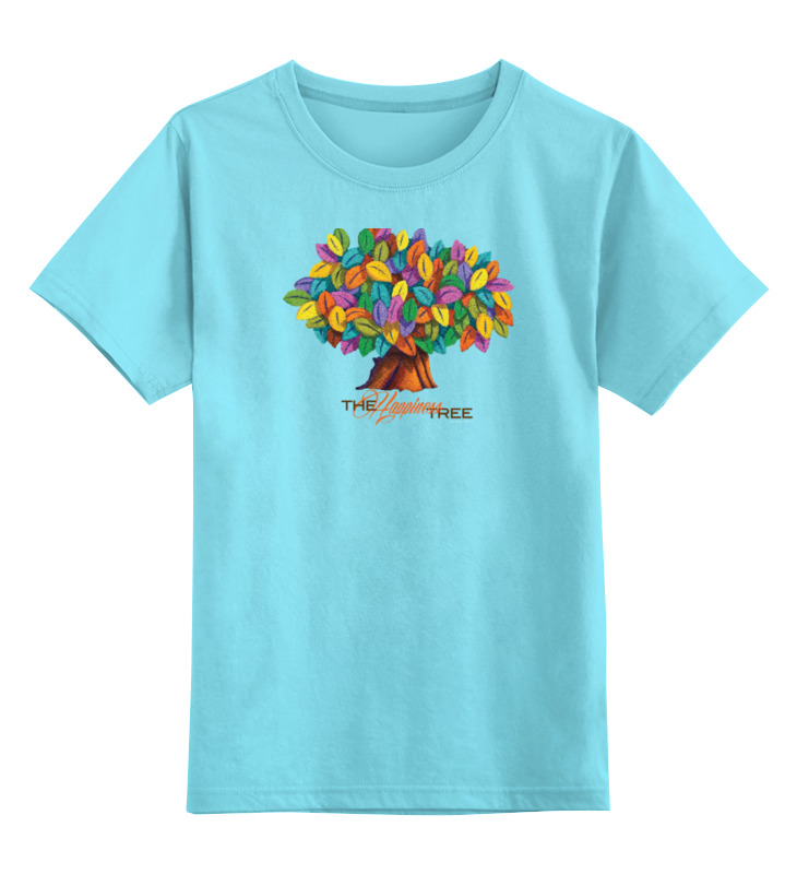 Детская футболка классическая унисекс Printio Icalistini the happiness tree дерево счастья дерево счастья 15100053р