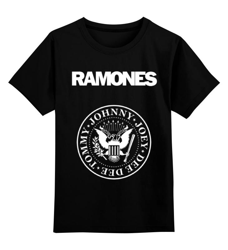 Детская футболка классическая унисекс Printio Ramones майка борцовка print bar ramones