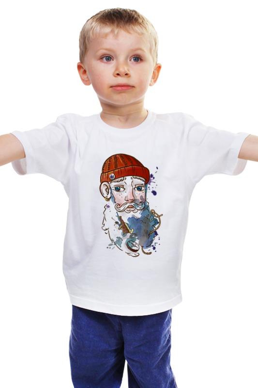 Детская футболка классическая унисекс Printio Моряк детская футболка классическая унисекс printio мачете