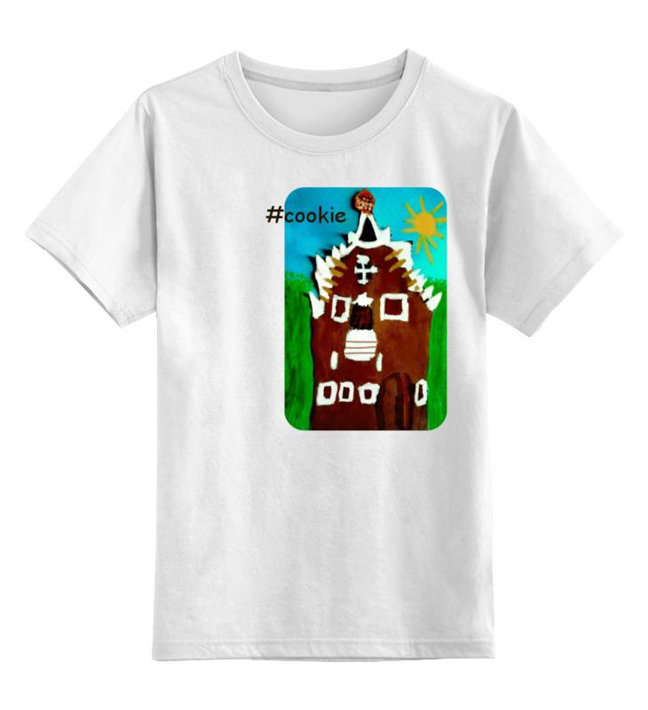 Детская футболка классическая унисекс Printio Печенька