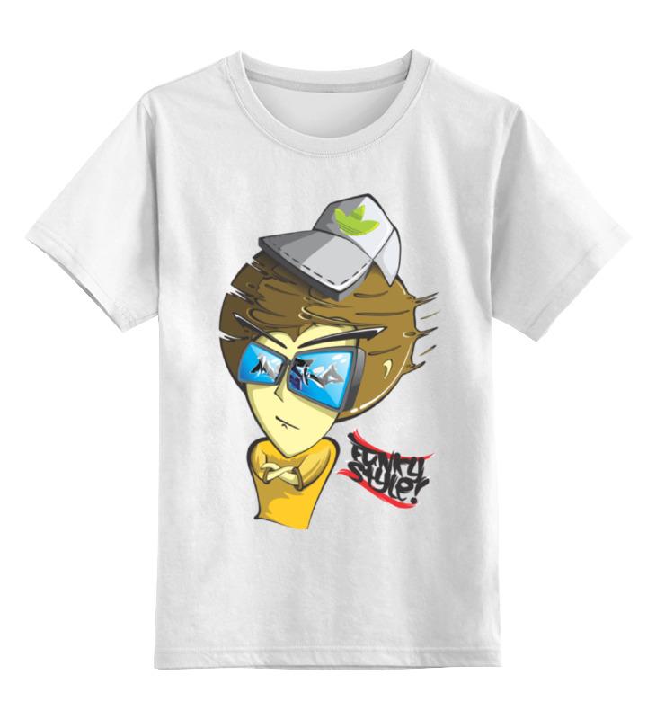 Детская футболка классическая унисекс Printio Funky man цена