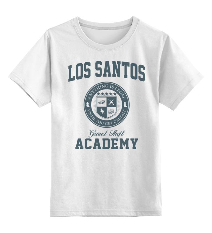 Детская футболка классическая унисекс Printio Gta. los santos grand theft academy детская футболка классическая унисекс printio gta 5 dog