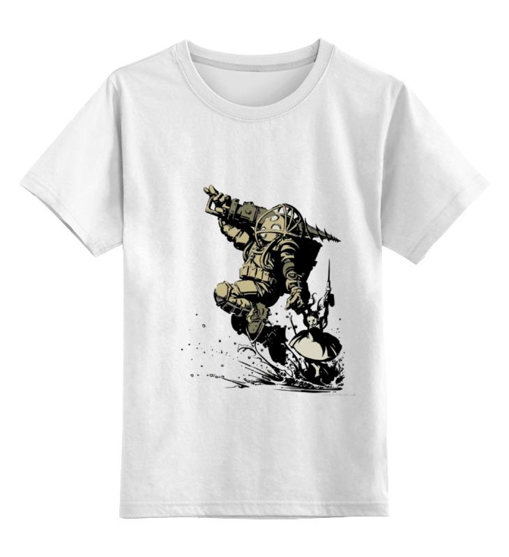Детская футболка классическая унисекс Printio Big daddy детская футболка классическая унисекс printio biochock big daddy