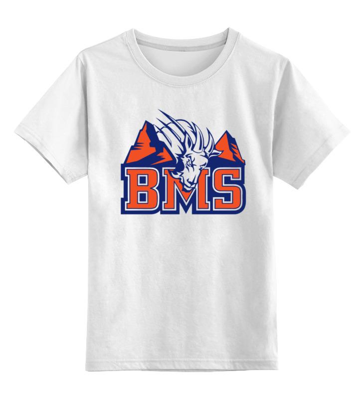 Детская футболка классическая унисекс Printio Реальные парни (blue mountain state) bms