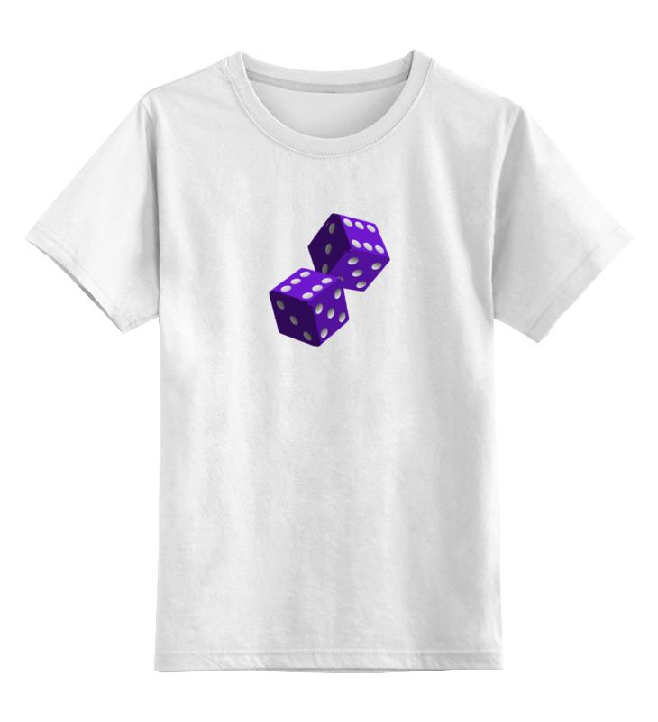 Детская футболка классическая унисекс Printio Кубики футболка print bar кубики