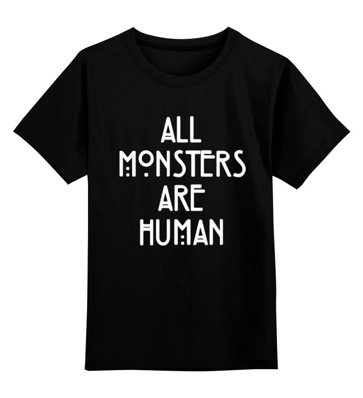 Детская футболка классическая унисекс Printio Aмериканская история ужасов история абдеритов