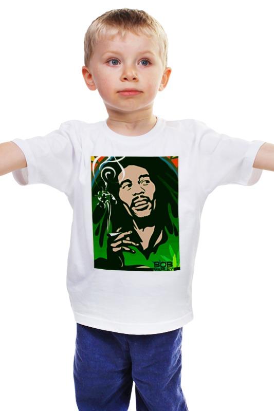Детская футболка классическая унисекс Printio Боб марлей детская футболка классическая унисекс printio боб марлей