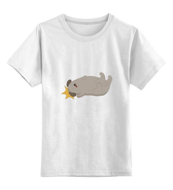 Детская футболка классическая унисекс Printio Спящая собачка футболка классическая printio спящая красавица