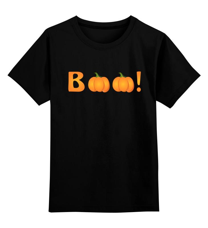 Детская футболка классическая унисекс Printio Halloween boo! футболка классическая printio halloween boo
