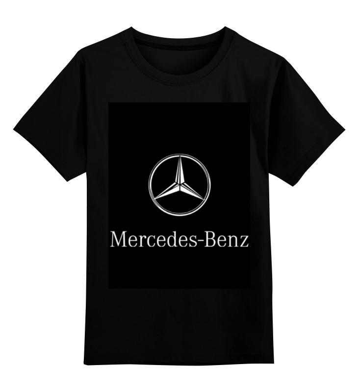 Детская футболка классическая унисекс Printio Mercedes benz футболка mercedes gp
