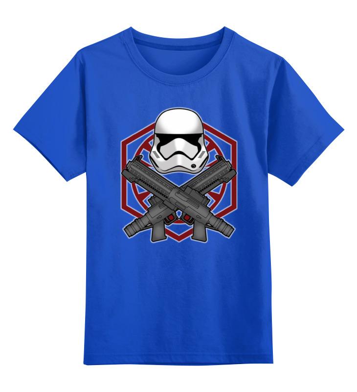 Детская футболка классическая унисекс Printio First order trooper - star wars лонгслив printio first order star wars