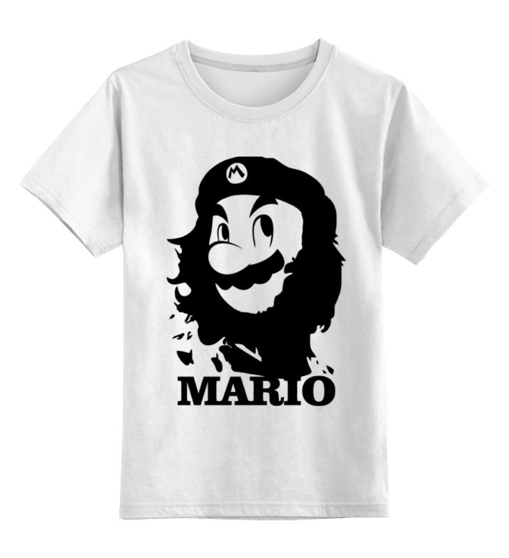 Детская футболка классическая унисекс Printio Mario x che