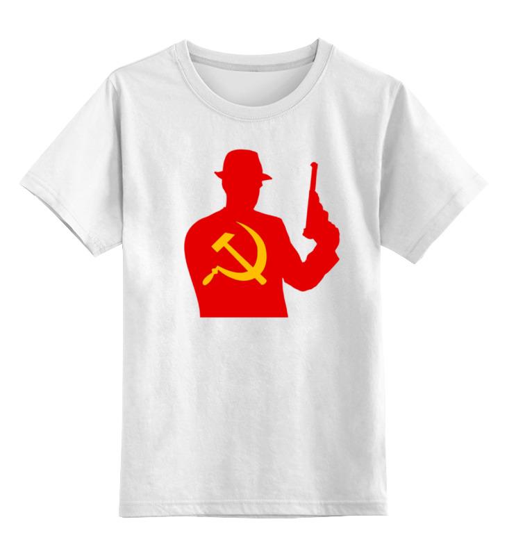 Детская футболка классическая унисекс Printio Russian mafia футболка классическая printio pumping mafia 1