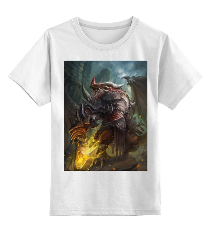 Детская футболка классическая унисекс Printio Dragon knight детская футболка классическая унисекс printio мотобайк