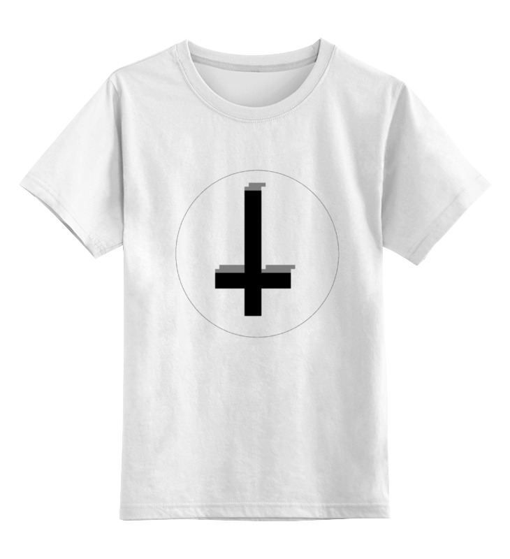 Детская футболка классическая унисекс Printio Крест