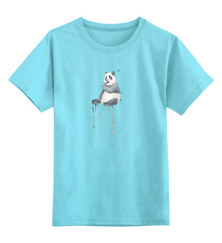 Детская футболка классическая унисекс Printio Панда детская футболка классическая унисекс printio красная панда