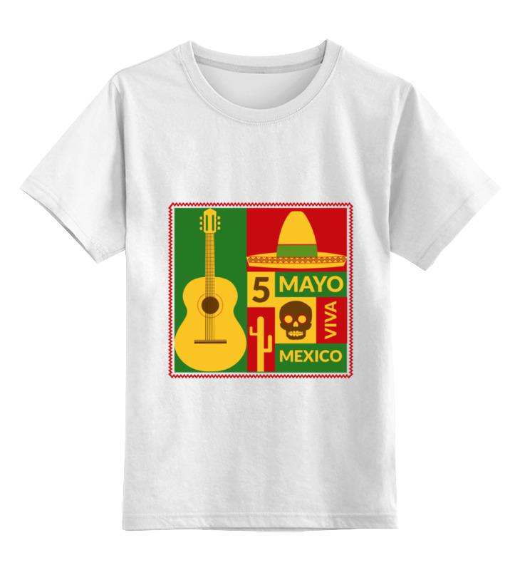 Детская футболка классическая унисекс Printio Мексиканская детская футболка классическая унисекс printio html 5