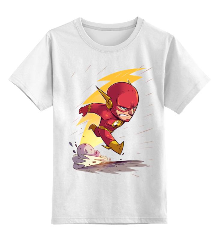 Детская футболка классическая унисекс Printio Флэш / flash детская футболка классическая унисекс printio flash