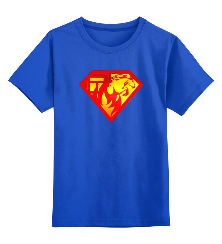 Детская футболка классическая унисекс Printio Суперженщина прикольный фартук суперженщина