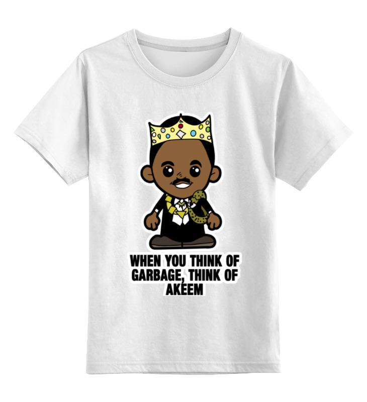 Детская футболка классическая унисекс Printio Принц аким (поездка в америку)