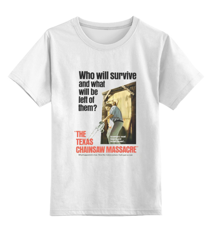 Детская футболка классическая унисекс Printio The texas chain saw massacre chainsaw clutch with drum needle bearing kit fit partner 350 351 chain saw replaces parts