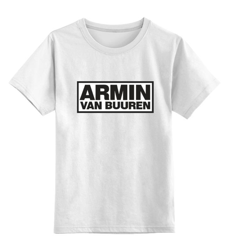 Детская футболка классическая унисекс Printio Армин ван бюрен (armin van buuren) билеты armin van buuren спб