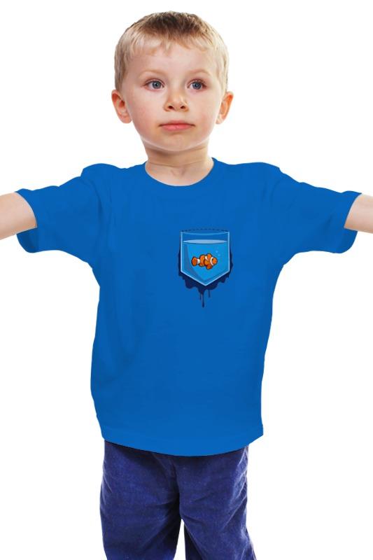Детская футболка классическая унисекс Printio Рыбка в кормане детская футболка классическая унисекс printio рыбка 3