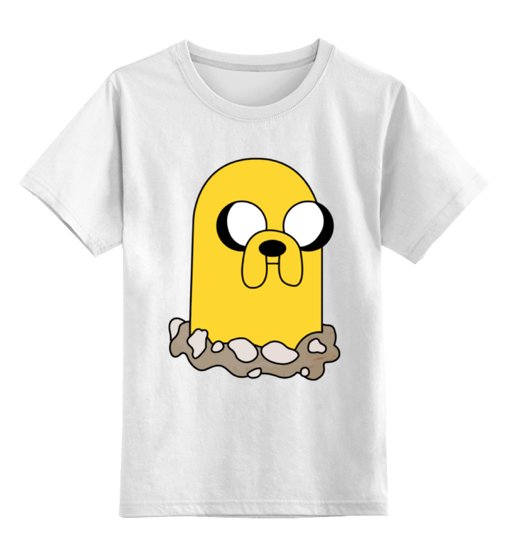 Детская футболка классическая унисекс Printio Джейк (время приключений) детская футболка классическая унисекс printio финн и джейк adventure time