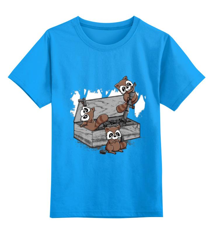 Детская футболка классическая унисекс Printio Raccoon terrorist футболка print bar the raccoon