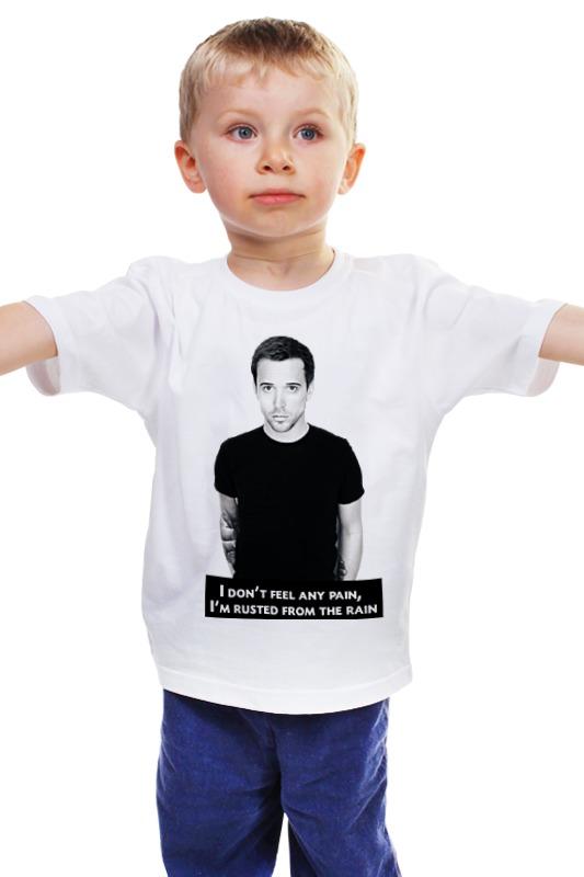 Детская футболка классическая унисекс Printio Billy talent tefal k 0910204 talent