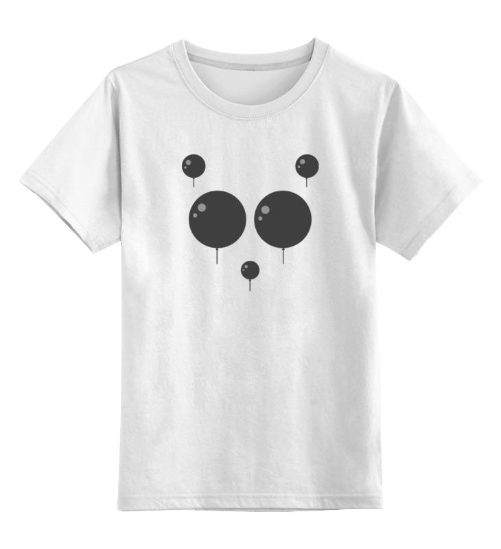 Детская футболка классическая унисекс Printio Панда детская футболка классическая унисекс printio король панда
