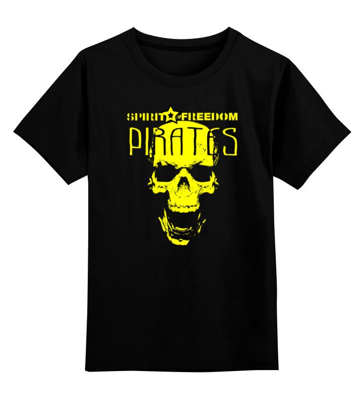 Детская футболка классическая унисекс Printio Pirates.spirit of freedom ! цена и фото