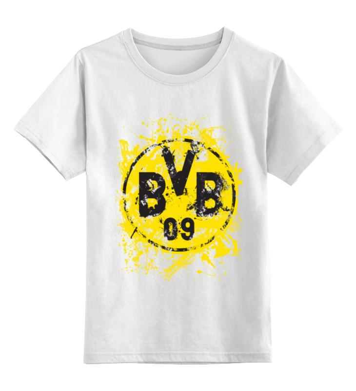 Детская футболка классическая унисекс Printio Боруссия дортмунд билет на поезд москва дортмунд