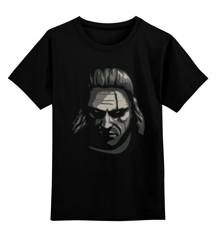 Детская футболка классическая унисекс Printio Ведьмак (the witcher)