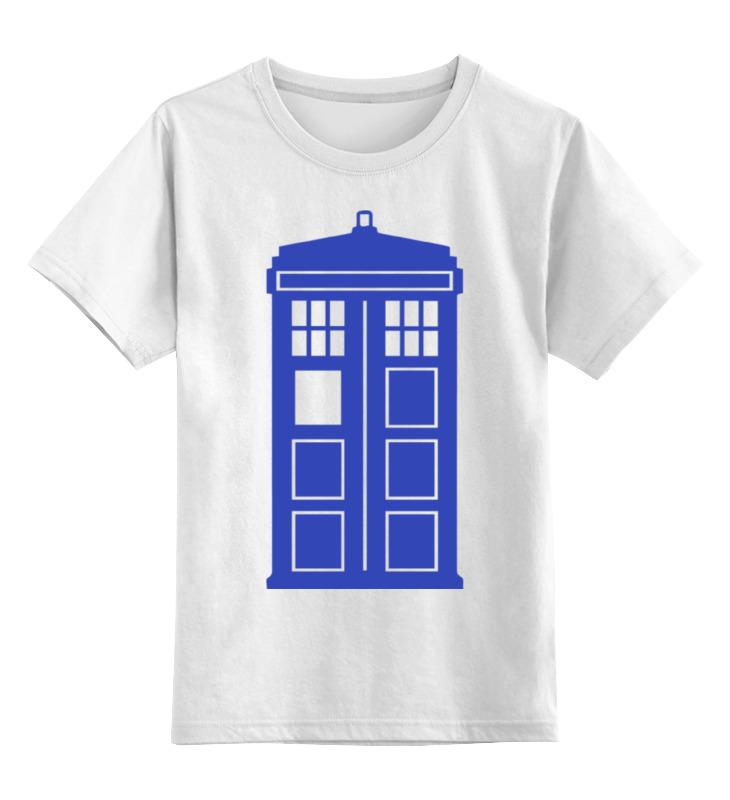 Детская футболка классическая унисекс Printio Tardis (тардис)