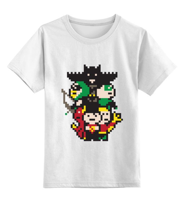 Детская футболка классическая унисекс Printio Супергерои детская футболка классическая унисекс printio супергерои тор