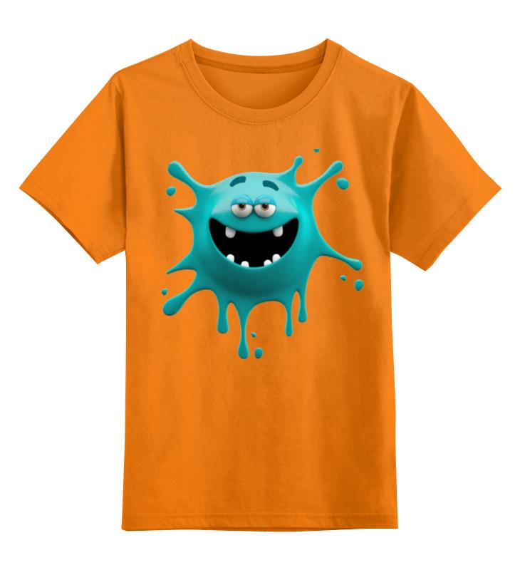 Детская футболка классическая унисекс Printio Монстрик цена и фото