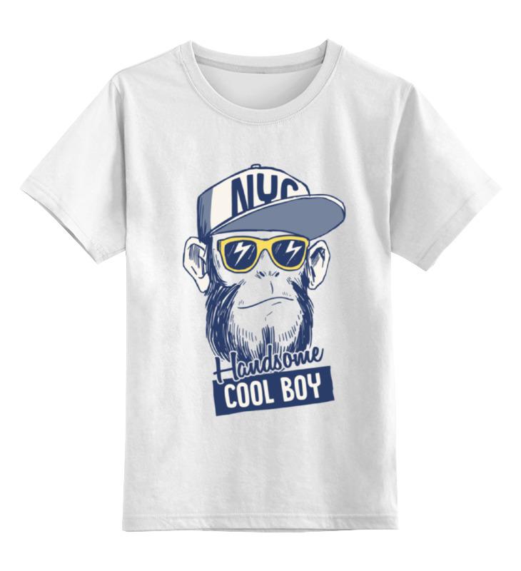 Детская футболка классическая унисекс Printio Brooklyn monkey майка классическая printio brooklyn nets