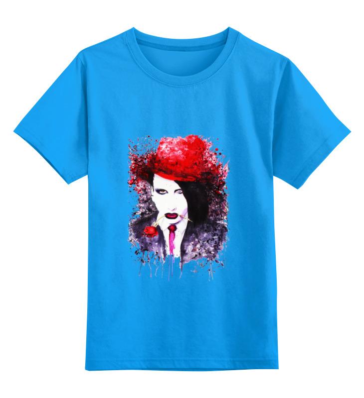 Детская футболка классическая унисекс Printio Мерлин менсон детская футболка классическая унисекс printio ты моя мамочка