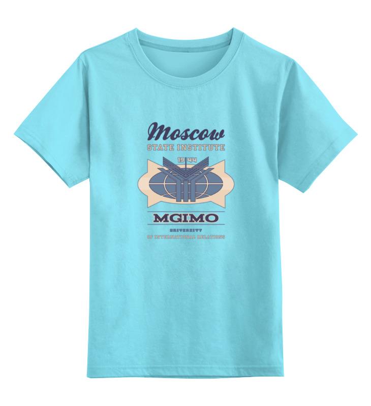 Детская футболка классическая унисекс Printio Футболка женская мгимо