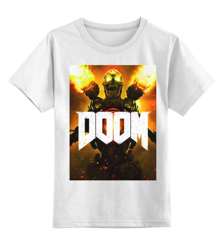 Детская футболка классическая унисекс Printio Doom 4 футболка doom