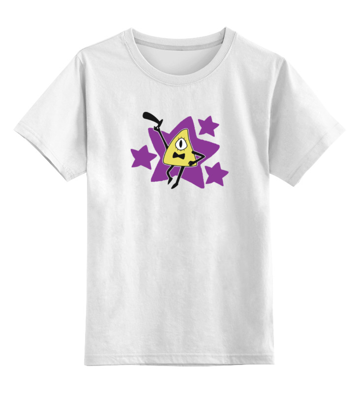Детская футболка классическая унисекс Printio Билл шифр (гравити фолз) junior republic junior republic шапка с помпоном зимняя фуксия