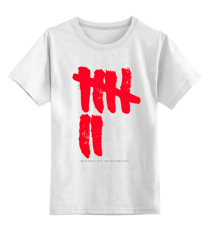 Детская футболка классическая унисекс Printio Великолепная семерка