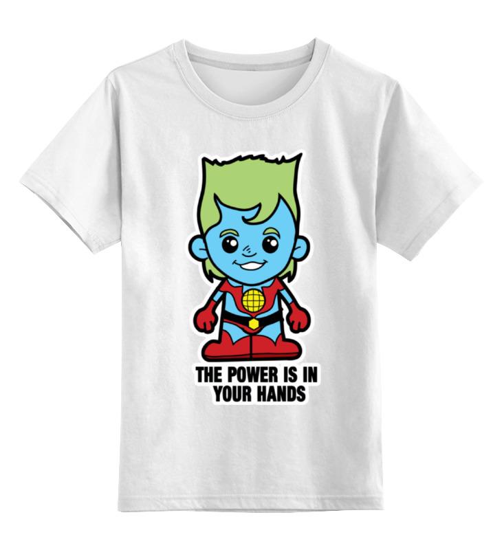 Детская футболка классическая унисекс Printio Капитан планета капитан детская и взрослая модульная мебель мдф
