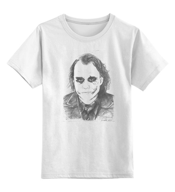 Детская футболка классическая унисекс Printio Хит леджер / джокер