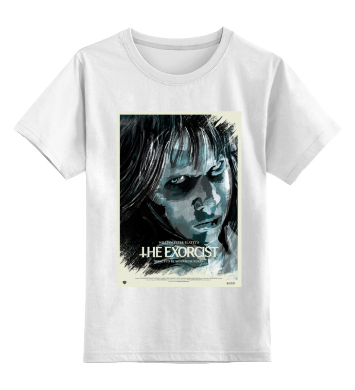 Детская футболка классическая унисекс Printio Изгоняющий / the exorcist