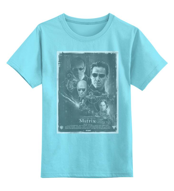Детская футболка классическая унисекс Printio Matrix / матрица