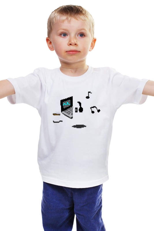 Детская футболка классическая унисекс Printio Undertale (подземная сказка)