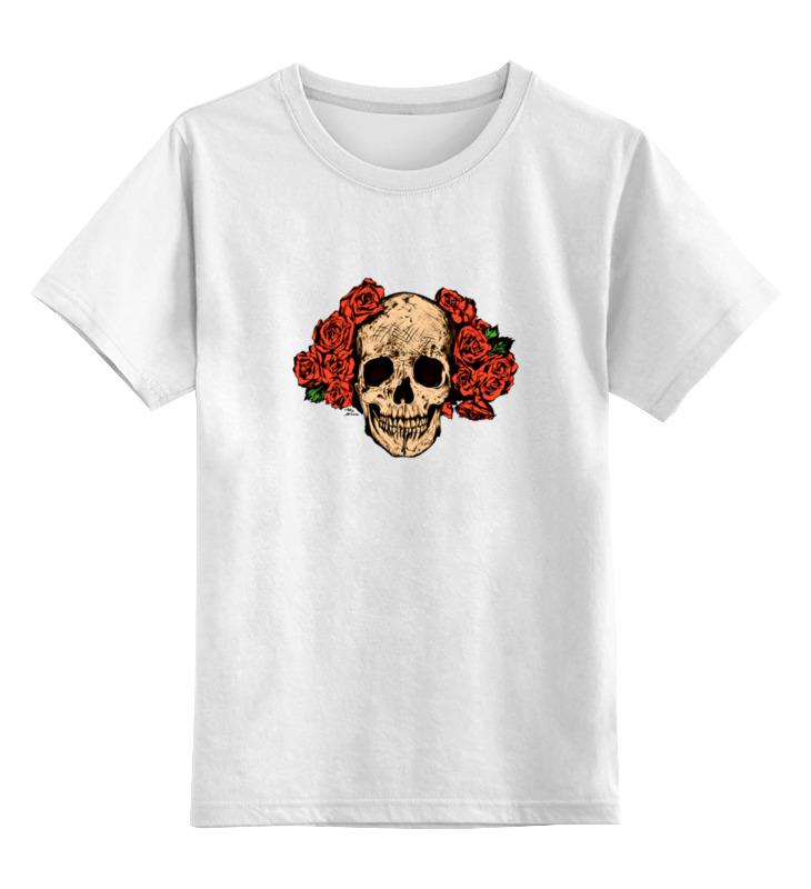 Детская футболка классическая унисекс Printio Mrs. skull детская футболка классическая унисекс printio mrs always right